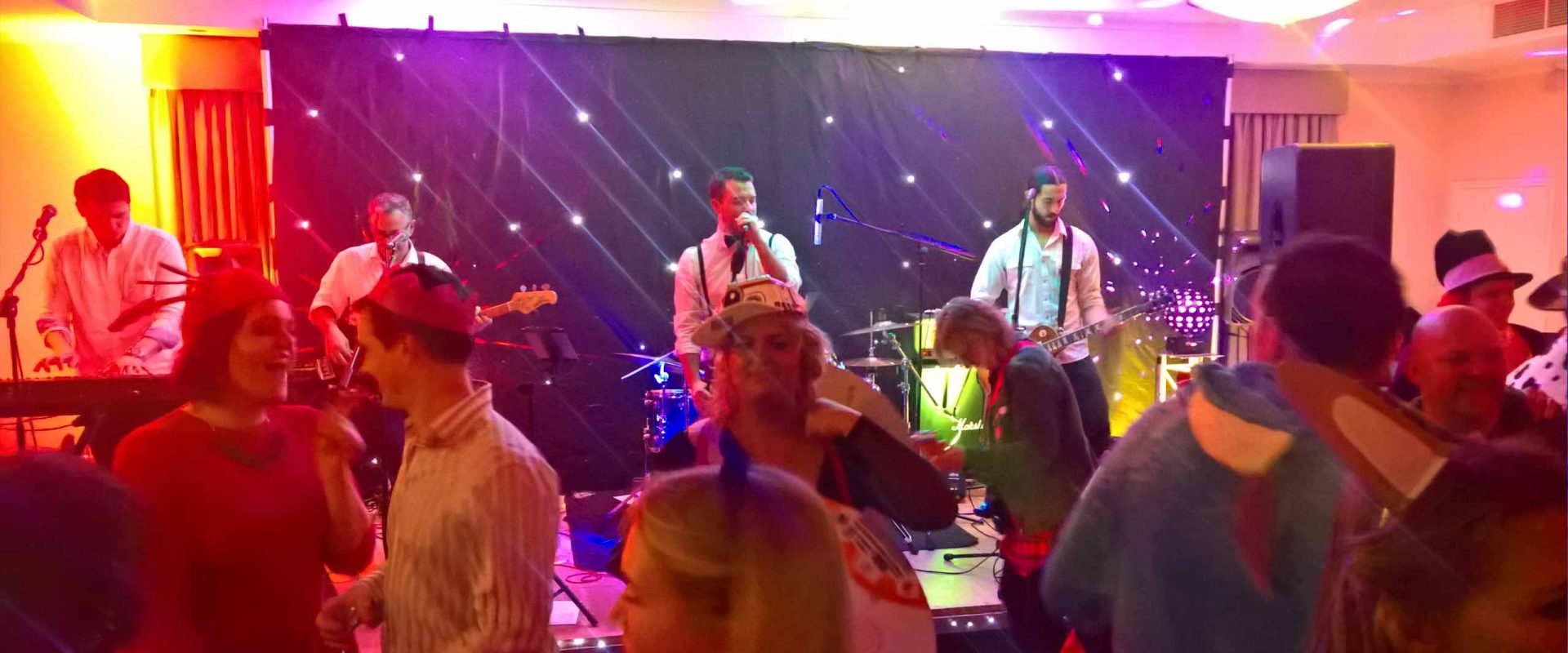 mirrorball wedding band surrey